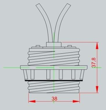 GU24 socket adapter outer tooth lamp holder drawing