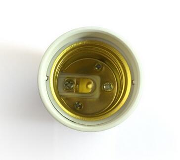 GU24 to E27 lamp socket adapter for led bulbs
