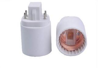 Gx24 to E26 adapter & Gx24 to E27 adapter