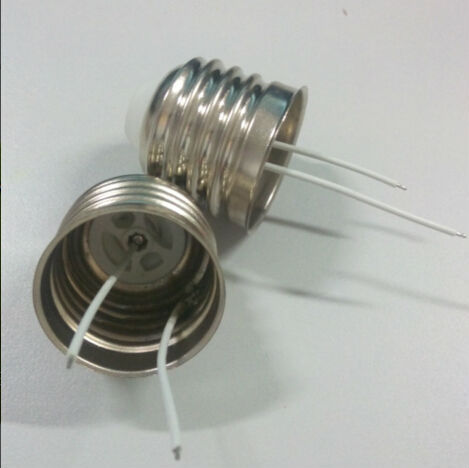 E27 lamp cap Tin-soldering free weld bulb socket