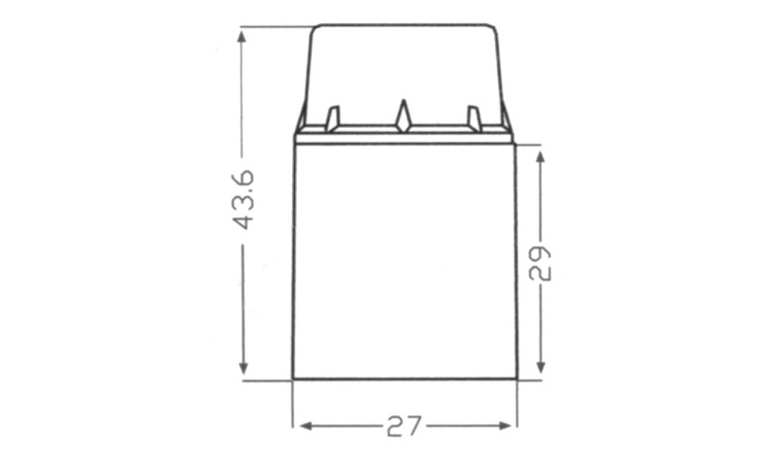 bakelite e12 light socket drawing diagram