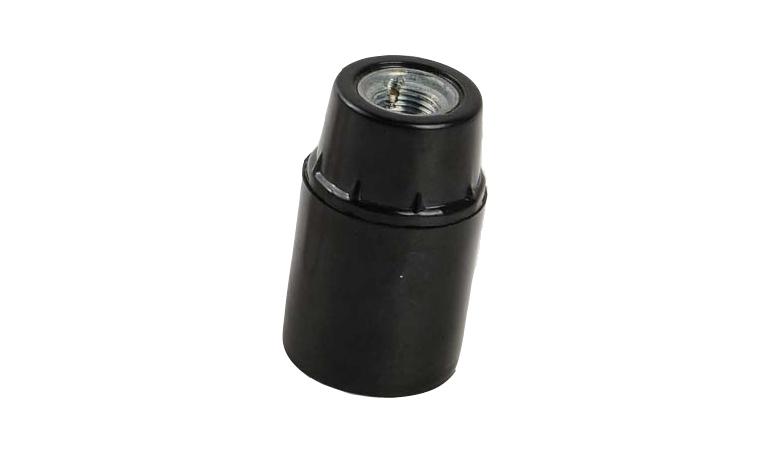bakelite e12 light socket smooth skirt lock screw