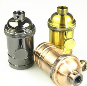 e27 Aluminium lamp holder
