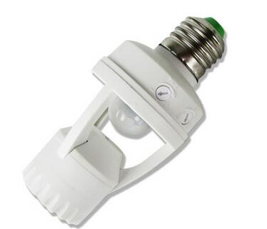 E27 b22 sensor lamp holder for led bulbs