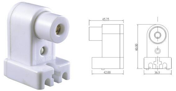 fluorescent sockets t8 diagram
