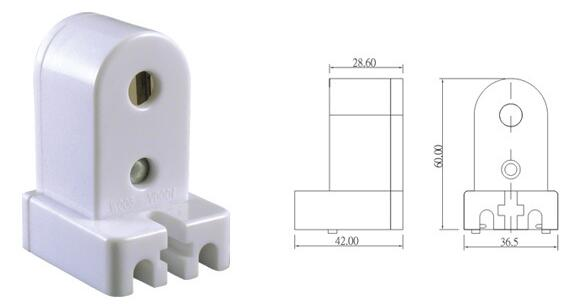 Fluorescent sockets t8 fluorescent lamp holder FA8