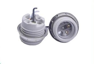porcelain E26 medium lamp socket