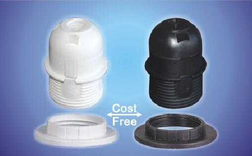 E26-S04 black bakelite light bulb bases for led bulbs