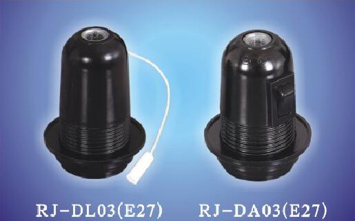 E27-DL03, E27-DA03 phenolic Switch Lamp holders