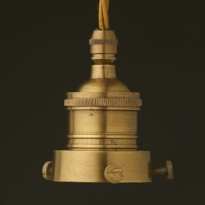 E27 brass lamp socket