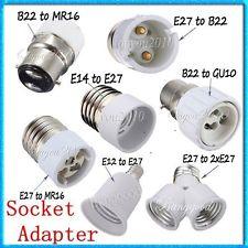 E27 led light socket adapters