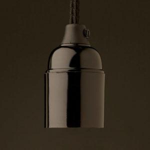 Edison bakelite lamp socket E27