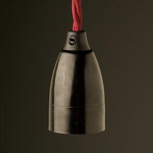 E27 Pendant bakelite socket Cord Grip