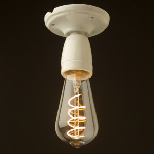 Porcelain Batten e27 lamp holder