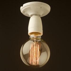 Porcelain Batten e27 light socket