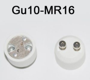 changing mr16 to gu10