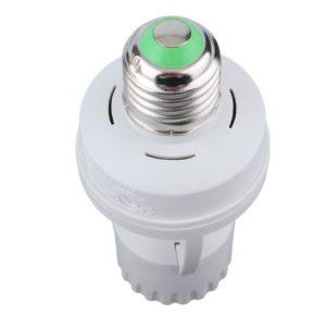 light sensor bulb socket for E27 LED lamp