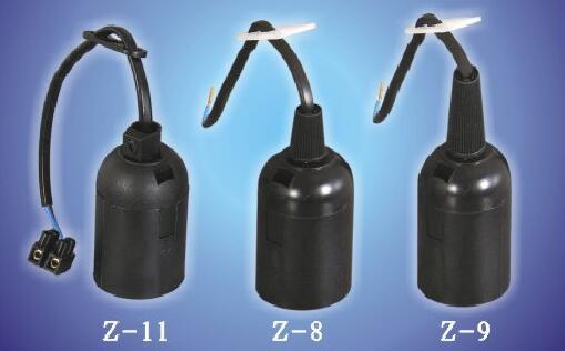 E26 E27 Z-11 Z-8 Z-9 bakelite plastic lamp socket