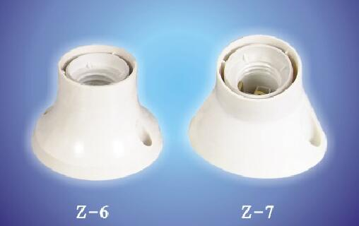 E26 E27 Z-6 Z-7 plastic lamp holders