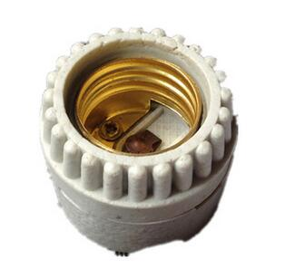E27 F504 ceramic light bulb socket for led bulbs