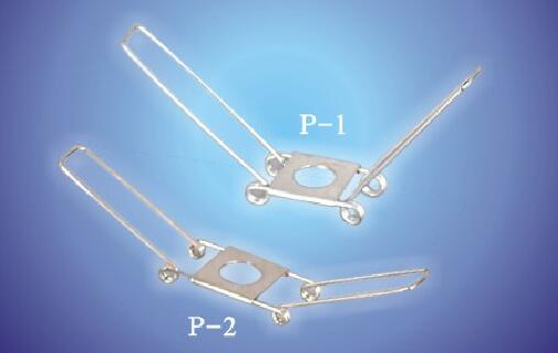 spring bracket p-1 p-2 for lamp holders