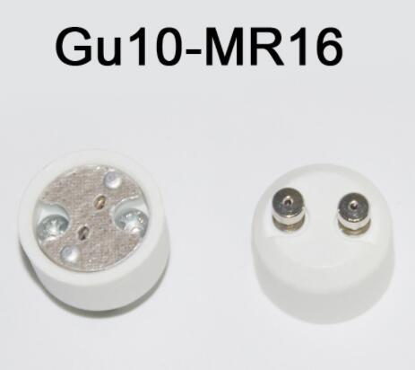 convert GU10 to MR16/G5.3 screw conversion light bulb socket adapter