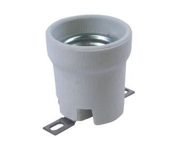 Porcelain es e27 lamp holder for led bulbs
