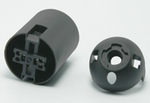 E26 bakelite lamp socket black