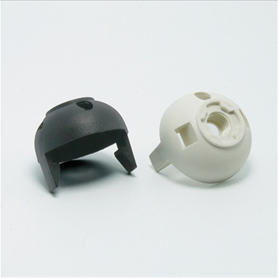 E26 bakelite lamp socket white black