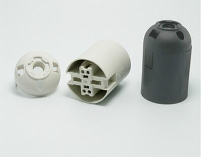 white black E27 bakelite lamp socket