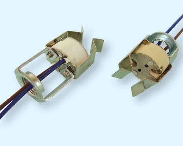 ceramic mr16 socket with clip
