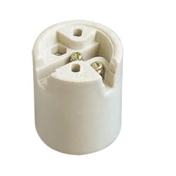 Porcelain light socket E26 Medium lamp holder