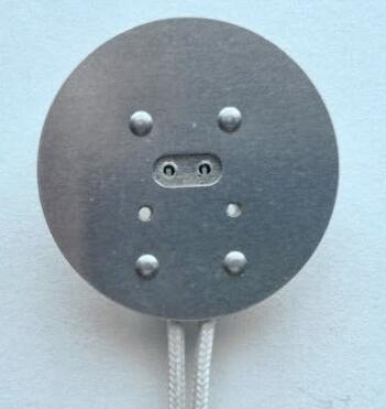 Mr16 sockets with round plate for led halogen lamps