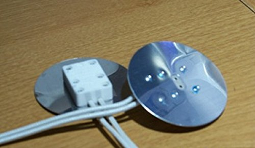 Mr16 sockets with round plate