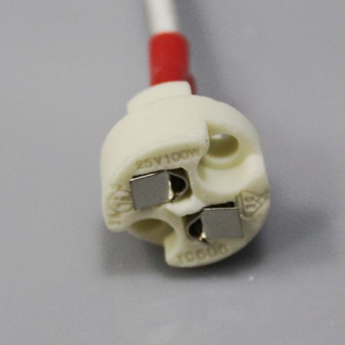 Mr16 2 pin socket with wires for LED & halogen lamps