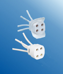 G10q F34 Bpush on lamp holders socket base