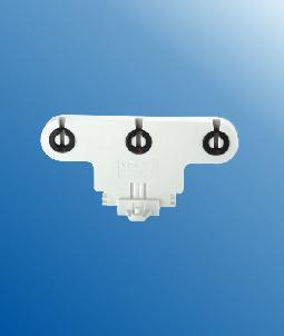 Triple fluorescent LED tube lamp holders G13 F263 C