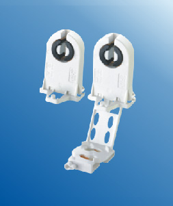 T8 G13 fluorescent LED lamp holders with starter