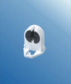 T5 Single Push through fluorescent LED lamp holder G5 base