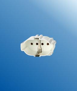 2G7 4 Pin H Tube energy-saving Surface mounted lamp holders