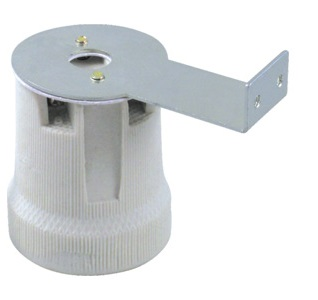CP-800A E27 porcelain lamp holder 250V 4A T250
