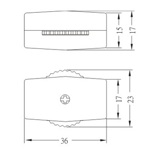 Cord switch ON-OFF Switches TS-09C Diagram size