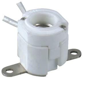 E11 porcelain halogen lamp holder socket base