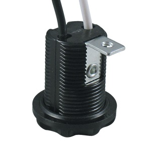 E12 Phenolic Candelabra Lamp holder base with bracket