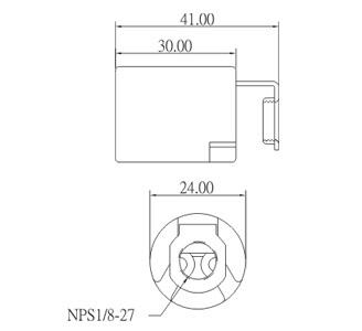 E14 Porcelain Lamp Socket Base GE-6014B Diagram