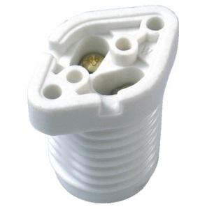 E17 ceramic halogen lamp holder socket base L026