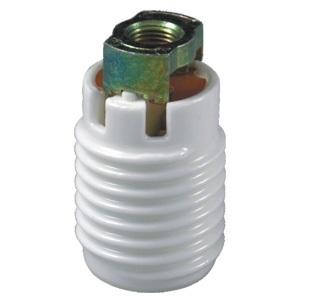 E17 ceramic halogen lamp holder socket base with bracket