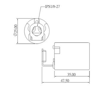 E17 porcelain halogen lamp holder socket base with ring bracket dimension