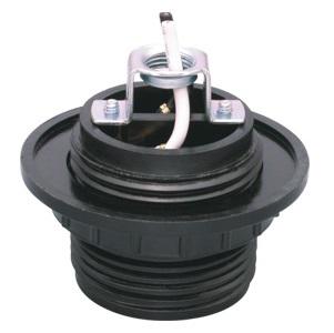 GE-6002B-1 E26 Phenolic Lamp holder with circle bracket