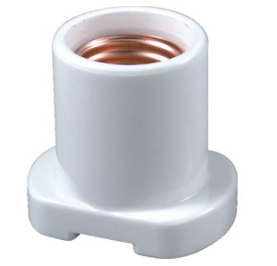 E26 porcelain halogen lamp holder socket base